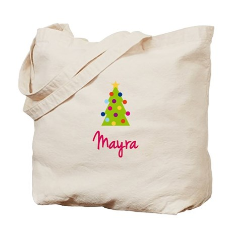 Christmas Tree Mayra Tote Bag