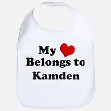 My Heart: Kamden Bib