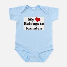My Heart: Kamden Infant Creeper