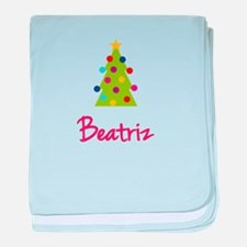 Christmas Tree Beatriz baby blanket