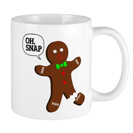 oH Snap, Gingerbread Man Mug