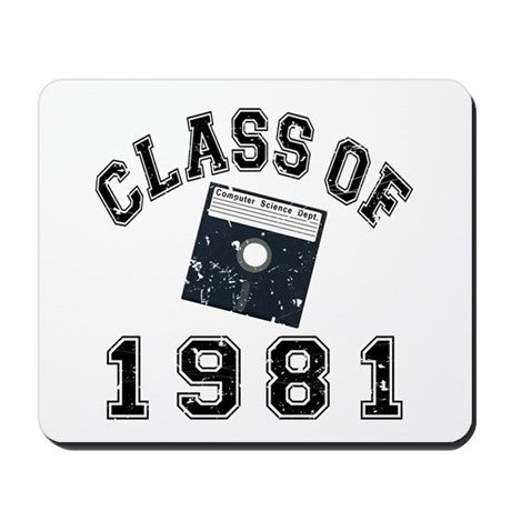 Class Of 1981 Computer Science Mousepad
