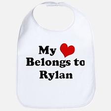 My Heart: Rylan Bib