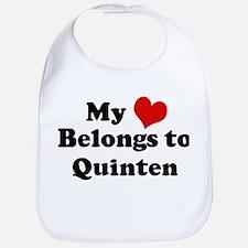 My Heart: Quinten Bib