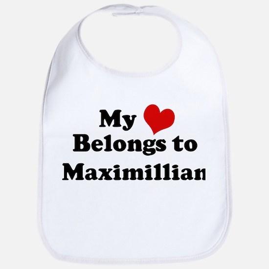 My Heart: Maximillian Bib
