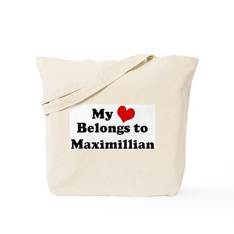 My Heart: Maximillian Tote Bag