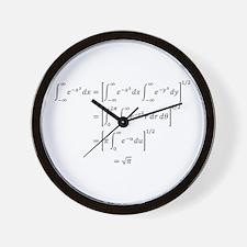 Gaussian Integral Wall Clock