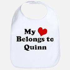 My Heart: Quinn Bib