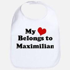My Heart: Maximilian Bib