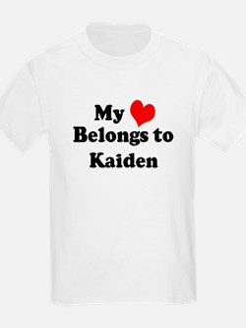 My Heart: Kaiden Kids T-Shirt