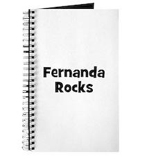 Fernanda Rocks Journal