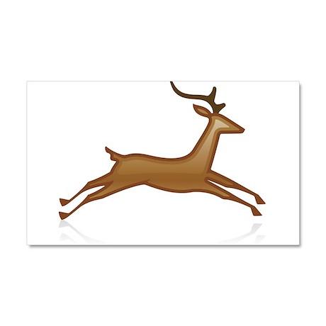 Reindeer Car Magnet 20 x 12