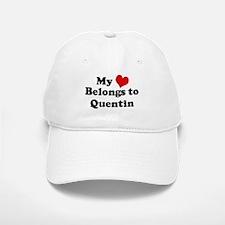 My Heart: Quentin Baseball Baseball Cap