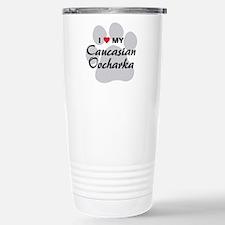 Love My Caucasian Ovcharka Travel Mug