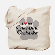 Love My Caucasian Ovcharka Tote Bag