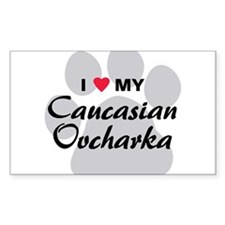 Love My Caucasian Ovcharka Decal