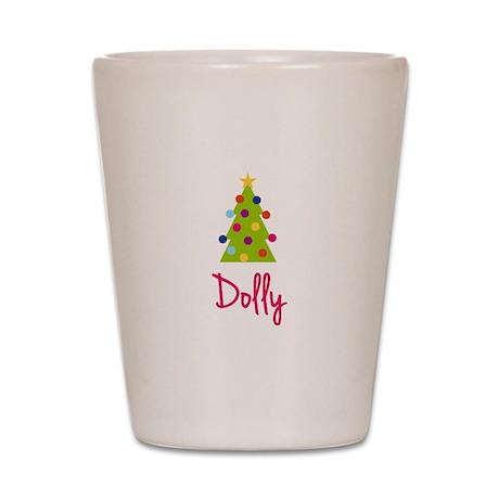 Christmas Tree Dolly Shot Glass