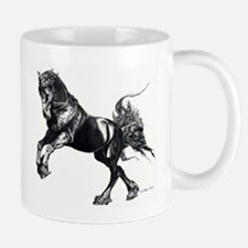 Keegan, Friesian Stallion Mug