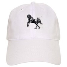 Keegan, Friesian Stallion Baseball Cap