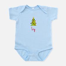 Christmas Tree Ivy Infant Bodysuit