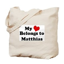 My Heart: Matthias Tote Bag