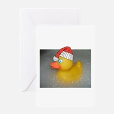 Cool Duck christmas Greeting Card
