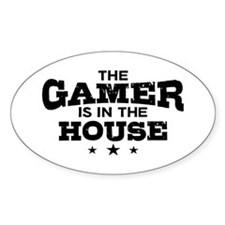 Funny Gamer Decal