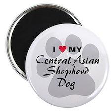 Central Asian Shepherd Dog Magnet