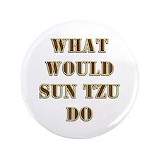 "Sun Tzu 3.5"" Button"