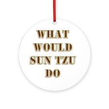 Sun Tzu Ornament (Round)