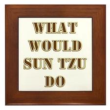 Sun Tzu Framed Tile