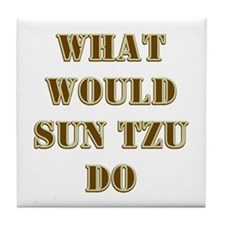 Sun Tzu Tile Coaster