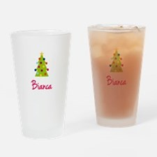 Christmas Tree Bianca Drinking Glass