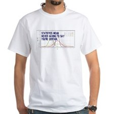 Statistics Means Uncertainty Shirt