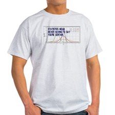 Statistics Means Uncertainty T-Shirt