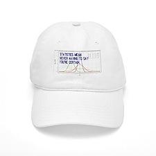 Statistics Means Uncertainty Baseball Cap