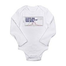 Statistics Means Uncertainty Long Sleeve Infant Bo