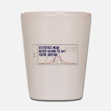 Statistics Means Uncertainty Shot Glass