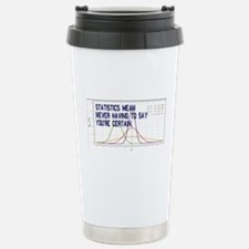 Statistics Means Uncertainty Travel Mug