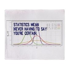 Statistics Means Uncertainty Throw Blanket