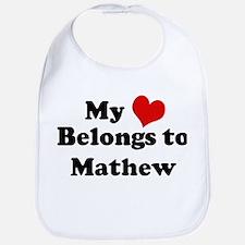 My Heart: Mathew Bib