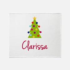 Christmas Tree Clarissa Throw Blanket