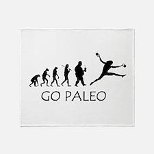 Cute Paleo Throw Blanket