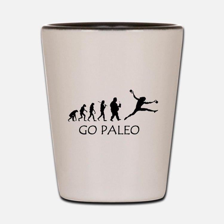 Cute Paleo Shot Glass