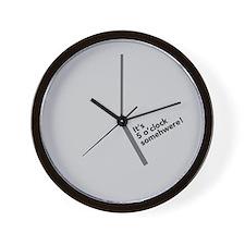 Wall Clock - It's 5 o'Clock Somewhere!