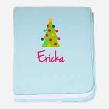 Christmas Tree Ericka baby blanket