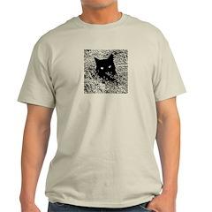Cat in the Grass Light T-Shirt