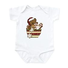 Sweet Christmas Bear Infant Bodysuit