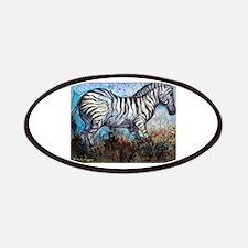 Zebra, wildlife, art, Patches