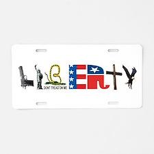 Liberty Aluminum License Plate